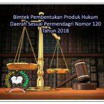 Bimtek Produk Hukum Daerah