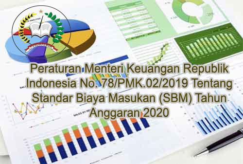 Jadwal Bimtek Standar Biaya Masukan (SBM) Tahun Anggaran 2020