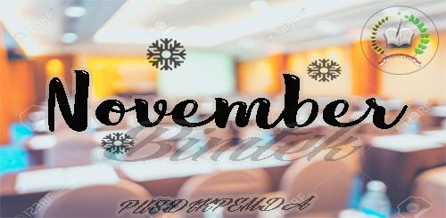 Jadwal Bimtek Bulan November